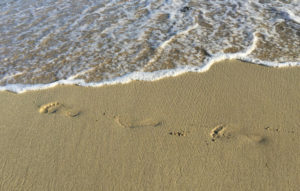 footprints-on-beach